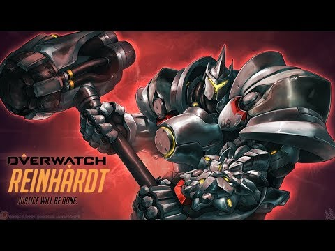 Overwatch platinum Reinhardt Gameplay: Road to diamond #1