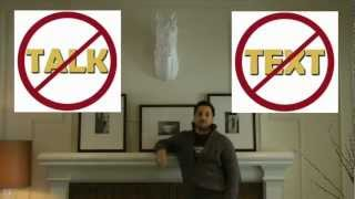 quot;Don39;t Talk or Text During Moviesquot; Alamo Drafthouse PSA  feat. Marc Ciafardini of GoSeeTalk.com