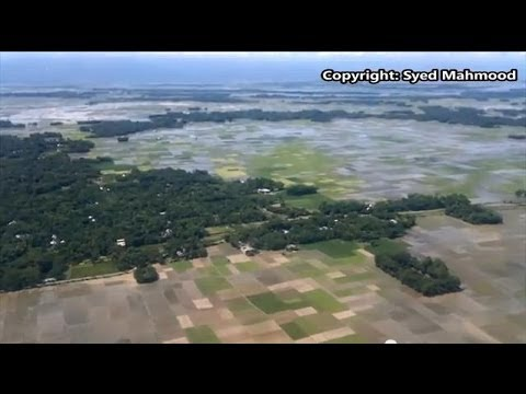 Beautiful Bangladesh Aerial view from sky Dhaka to Sylhet Air Plane SYED's Tourism