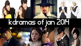 Top 5 New 2014 Korean Dramas [ January ] Top 5 Fridays