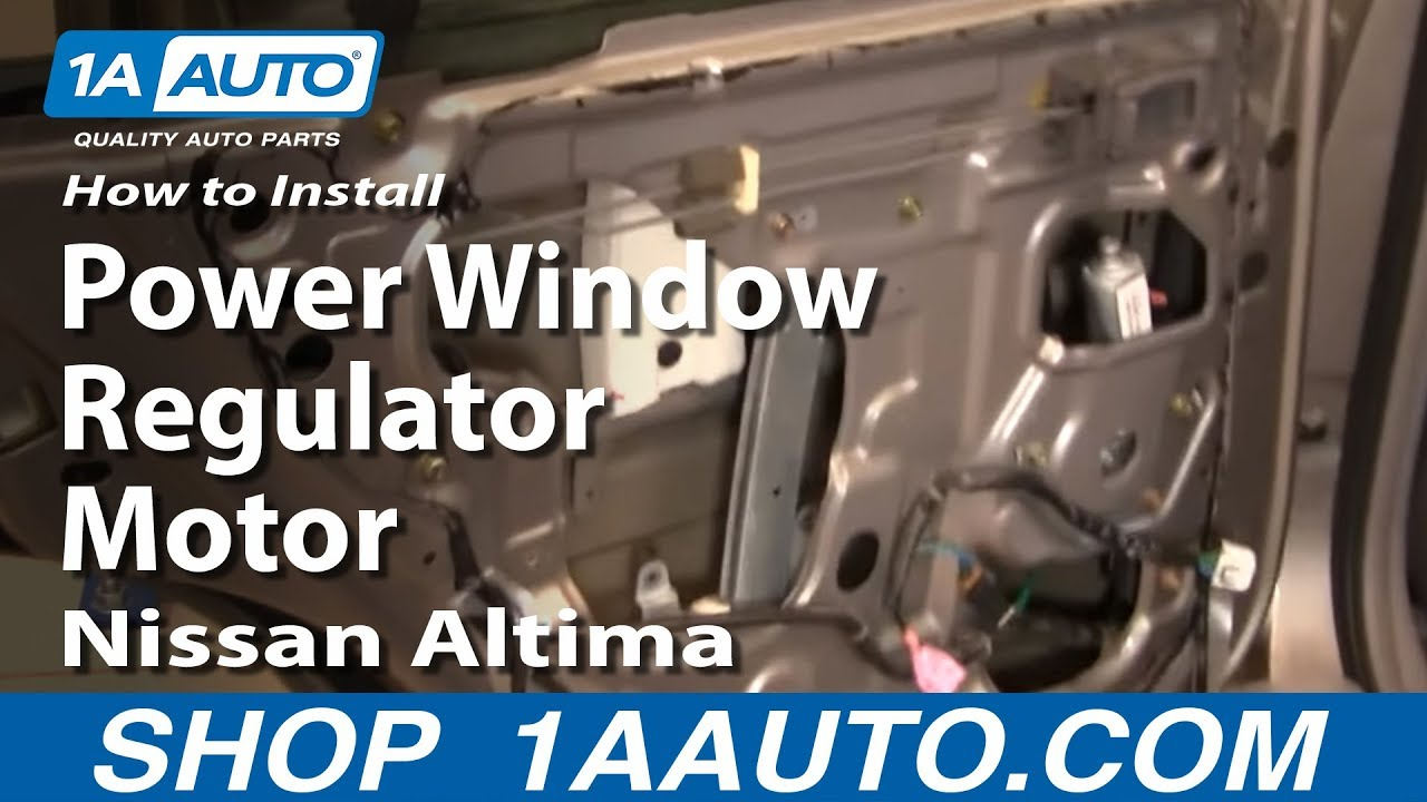 How to replace window regulator ford focus 2001 for 2001 ford focus power window regulator