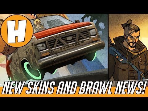 Overwatch - Hanzo Comic Skin + New Yeti Hunt Brawl CONFIRMED! (Developer Update News) | Hammeh