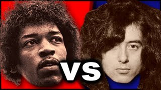 Jimi Hendrix Vs Jimmy Page Who Is The Best Guitarist Ever?