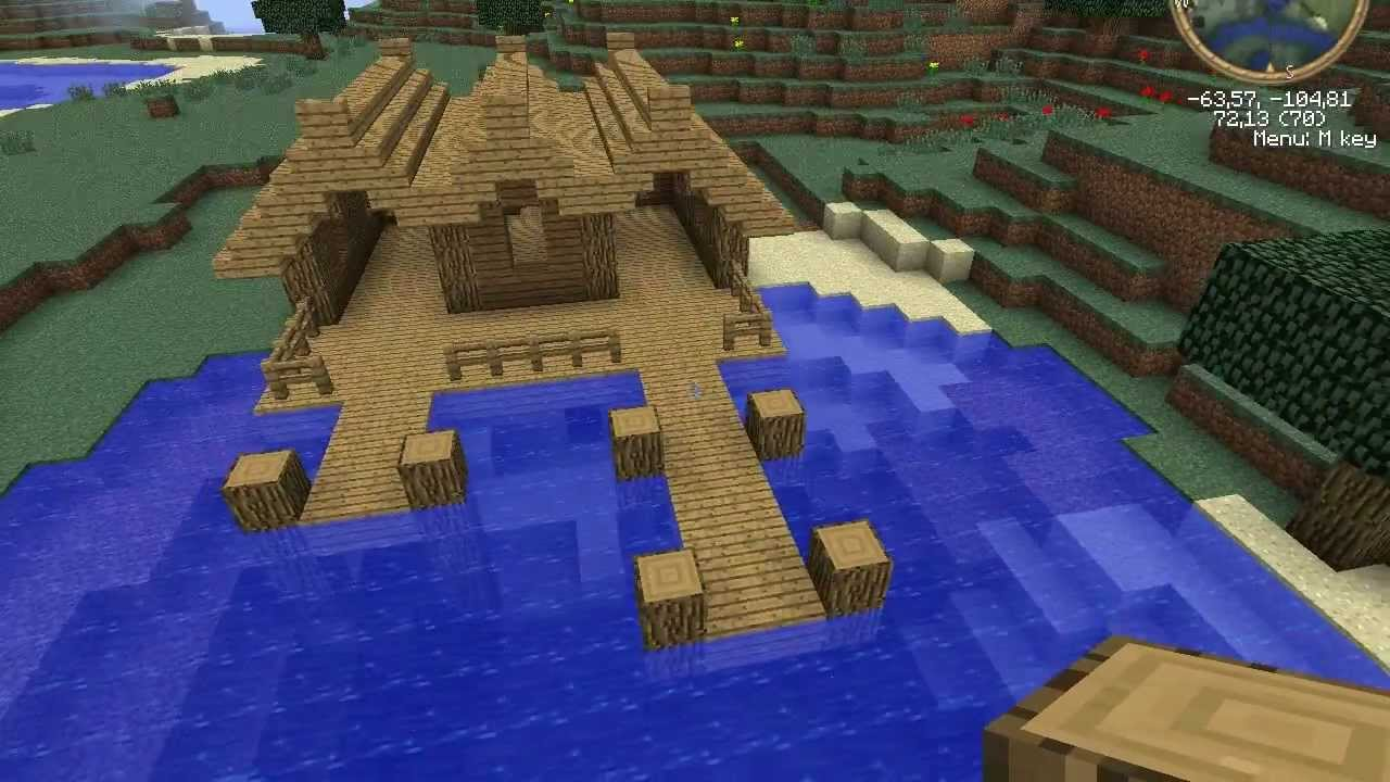 how to create something massive in minecraft