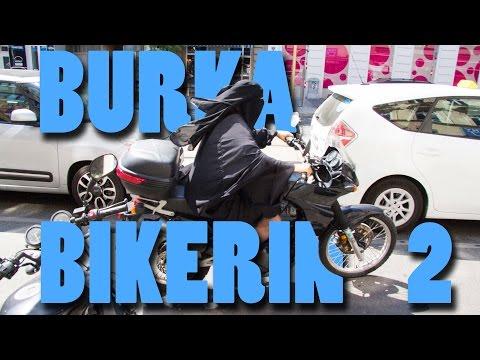 Burka Bikerin 2 - Behind
