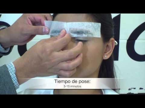 Planchar y depilar para unas cejas perfectas