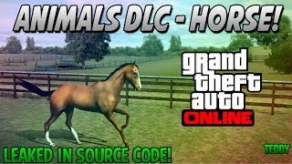 "GTA 5 DLC NEW HORSE DLC ""PETS IN GTA ONLINE"" [GTA 5"