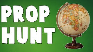 STUPID GLOBE! (Gmod Prop Hunt with Friends)