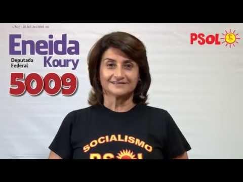 [Eneida Koury - Candidata a dep. federal pelo Psol - 5009 ]