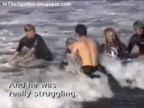 Surfing Shark Attack w...