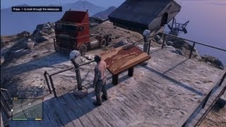 Grand Theft Auto 5: Driving Semi Trucks Off Mt. Chiliad
