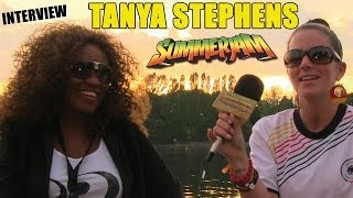 Interview with Tanya Stephens @ SummerJam 2014