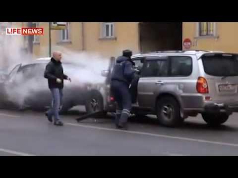 Tak se řeší opilci v Rusku! :-O