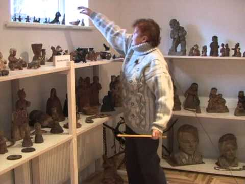 """J.Baranauskienės keramikos muziejus / Iš TV laidų ciklo """"Čia - Dzūkijos kraštas""""/ 2009 m."""