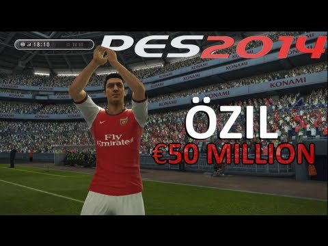 PES ● Mesut Özil signing for Arsenal FC - Transfer ● Welcome to Arsenal