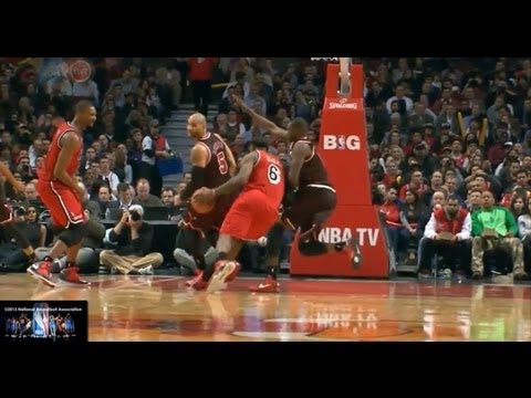 Lebron James Offense Highlights 2012/2013 Part 4