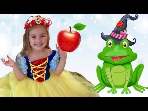 Cadı Kurbağa Oldu! Pamuk Prenses Kurtuldu! Snow White new story Funny video for kids