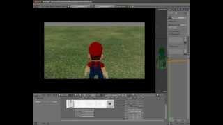 Tutorial 09: Camera set up. Blender Game Engine.