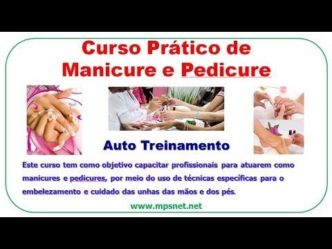 Curso Prático de Manicure e Pedicure DV0135
