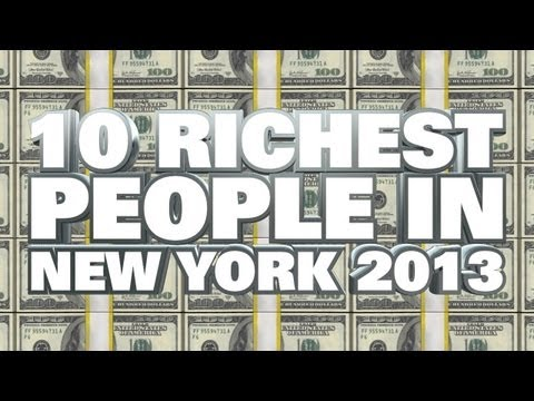 Top 10 Richest People In New York 2013