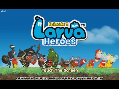 Larva Heroes: Episode 2 - Android Gameplay HD