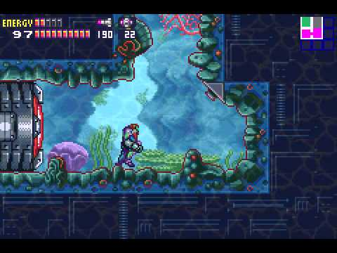 Metroid Fusion - Metroid Fusion part 20 i dont think were suppose to do this - User video