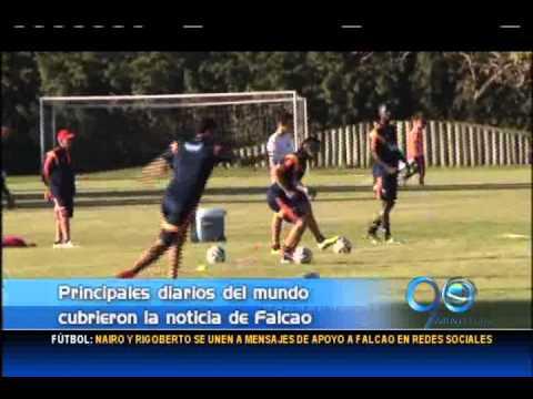 Junio 3 de 2014. Reacciones de la prensa internacional sobre ausencia de Falcao en el Mundial de Bra