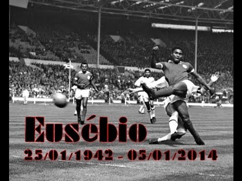 Eusébio Homenagem a Eusébio | Descansa em paz | RIP