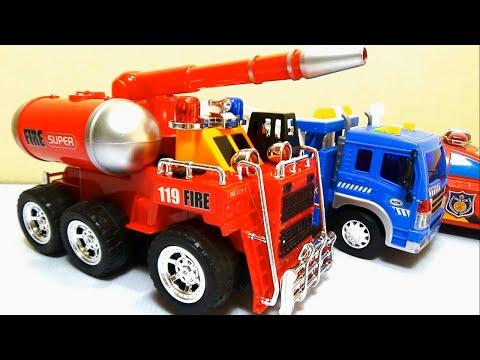 Brinquedo đồ chơi xe ô tô cứu hỏa chữa cháy máy bay by Giai tri cho Be yeu