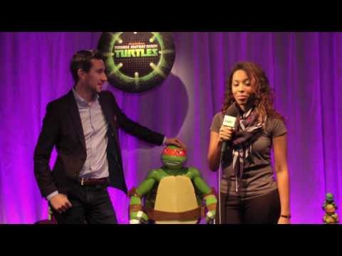 Nickelodeon TMNT Toys GamerFitNation Preview