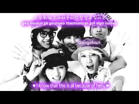 B1A4 If.. [Eng Sub + Romanization + Hangul] HD, b1a4 if eng sub + lyrics on screen colour coded http://www.facebook.com/pages/B1A4-Gongchan-Baro/221855114513651 no copyright infringement intended eng: hyej...