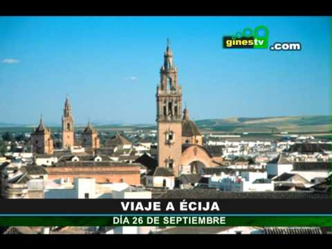 Visita turística a Écija el próximo 26 de septiembre