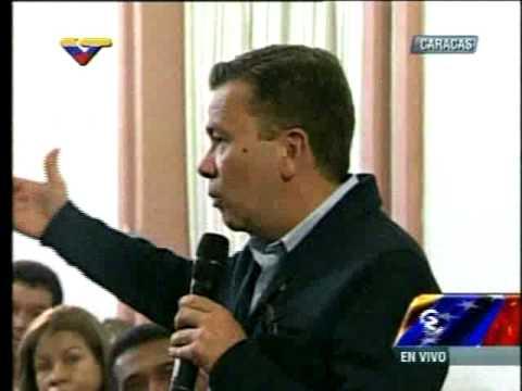 Gerardo Blyde, alcalde de Baruta, durante reunión de gobernadores y alcaldes con Maduro.