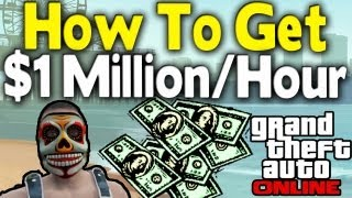 GTA Online $1 MILLION & 200k RP PER HOUR GUIDE (Best Mid