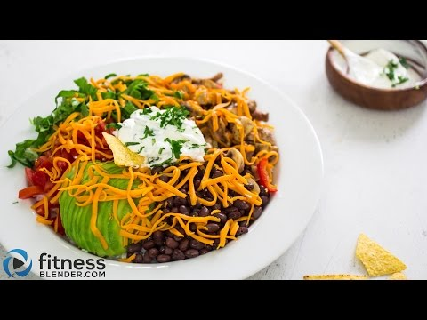 Healthy burrito bowl recipe - Fresh, flavorful dinner idea for families