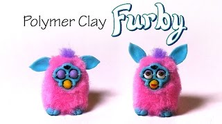 Polymer Clay Furby Tutorial - W/ ''poseable'' Expression