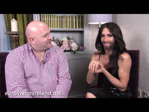 Eurovision Ireland Speaks To Eurovision Winner Conchita Wurst - Dublin on Friday June 27th 2014