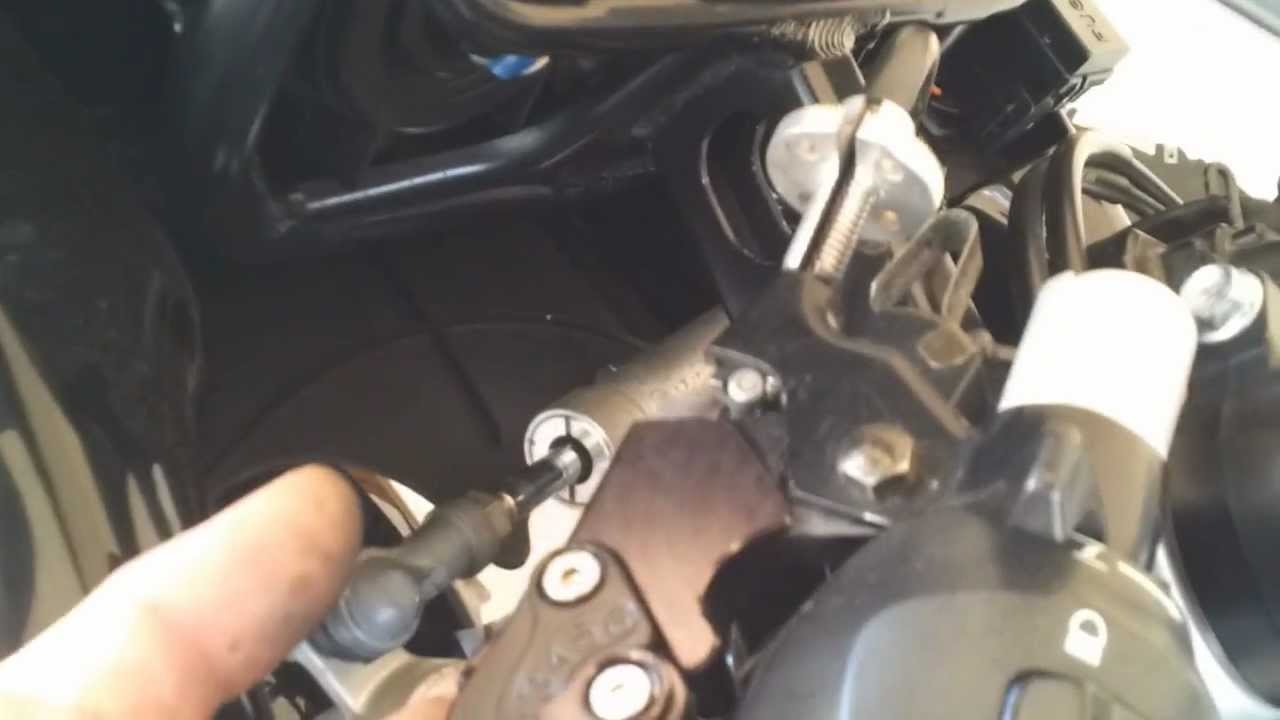 gsxr  clutch cable replacement  gp shift