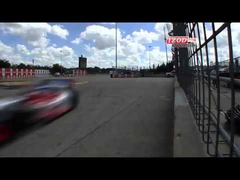 Reay Crash @ 2013 Indy Car Houston Practice