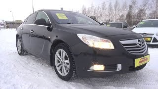 2013 Opel Insignia 2.0 Turbo AT 4x4. Start Up, Engine, and In Depth Tour.. MegaRetr