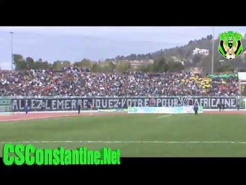 CSC-MCA : Ambiance au stade et le Tifo des Ultras