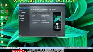 Blackberry Tour 9630: Descargar E Instalar Aplicación