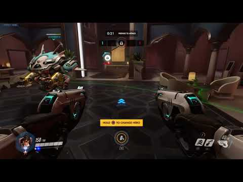 (Overwatch) Game Ranked  as Tracer 63 Kills