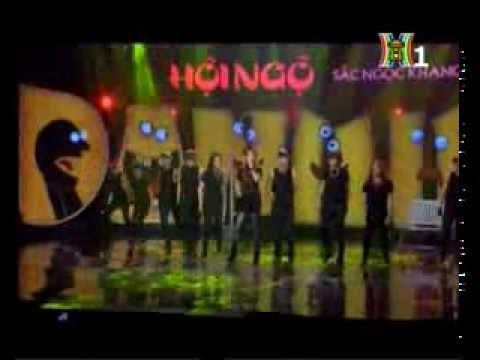 I Don't want - Khởi My & Oh Dance Team ( Hội ngộ danh hài 15-2-2014 )