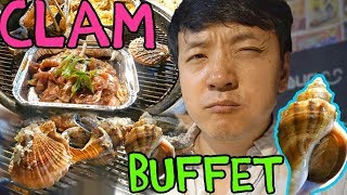 All You Can Eat Korean CLAM Buffet!