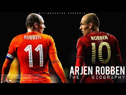 Arjen Robben - Story of a Champion [2002-2014] // HD