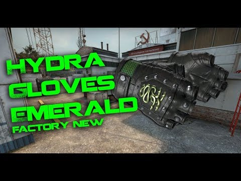 Hydra Gloves   Emerald (Factory New) - CS:GO