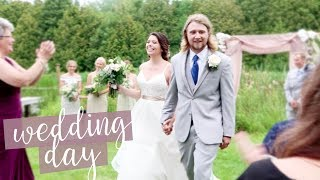 WEDDING DAY VLOG: BECKY & AUSTIN