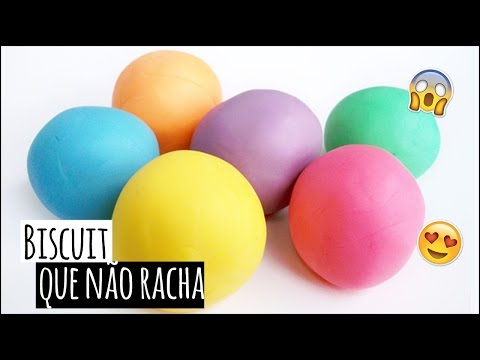 POLYFORT BISCUIT - DIY: Massa de biscuit colorida