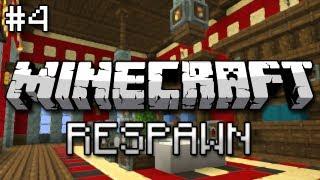 Minecraft: Respawn the Unseen Journey w/ Nick Part 4 - Welcome to Hogwarts